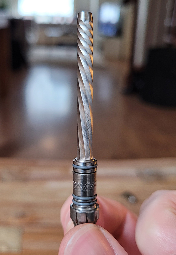 Helical condenser of the new DynaVap 2021 Omni portable vaporizer